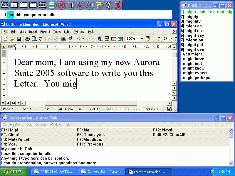 Click to view Aurora Suite 2005.0004 screenshot