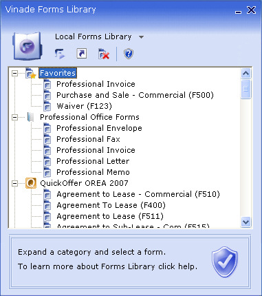 Click to view Forms Reader 2007 screenshot