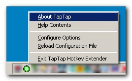 Click to view TapTap Hotkey Extender 1.03.01 screenshot