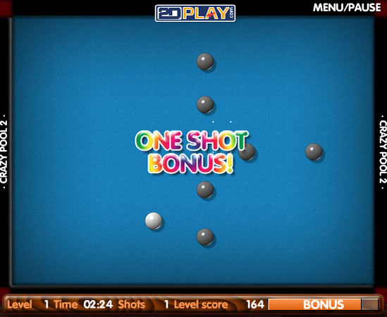 Click to view Crazy Pool 2 1.0 screenshot