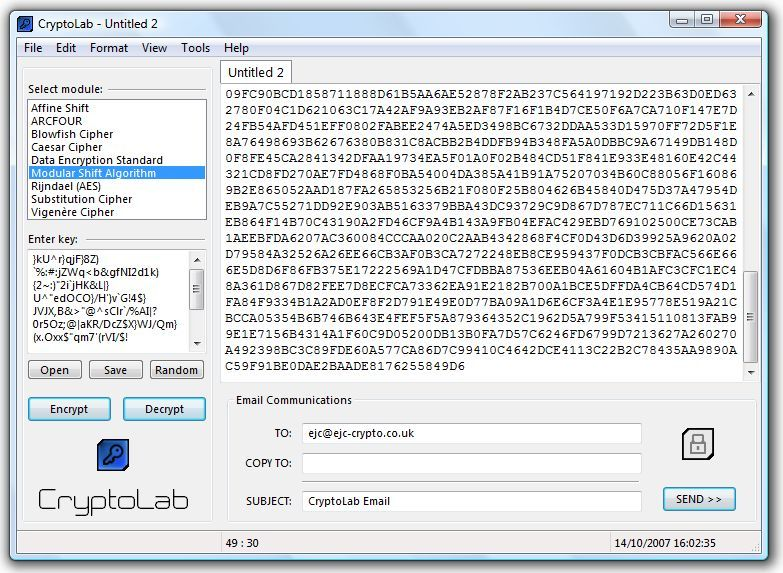 Click to view CryptoLab 1.02.2 screenshot