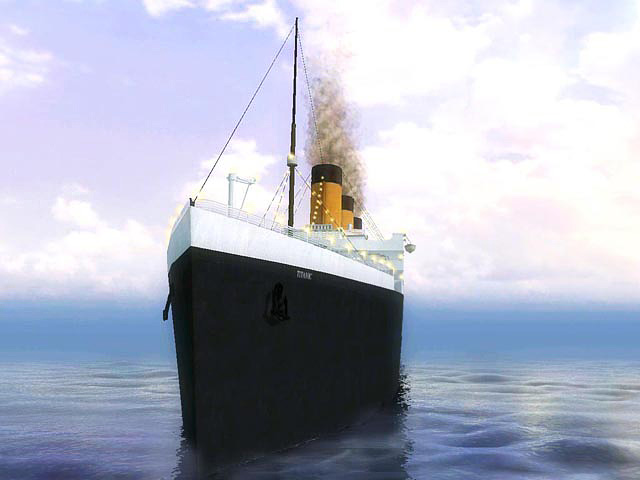 Click to view 3D Titanic Screensaver 1.4 screenshot