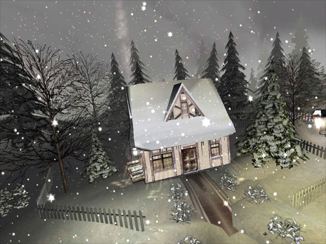 Click to view Winter 3D Screensaver 1.1 screenshot