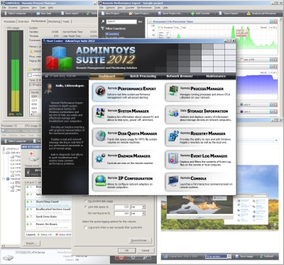 Click to view AdminToys Suite 1.8.1800 screenshot