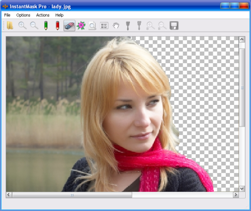 Click to view InstantMask Pro 2.7 screenshot