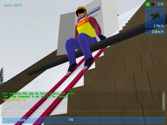 Click to view Deluxe Ski Jump 3 1.7.1 screenshot