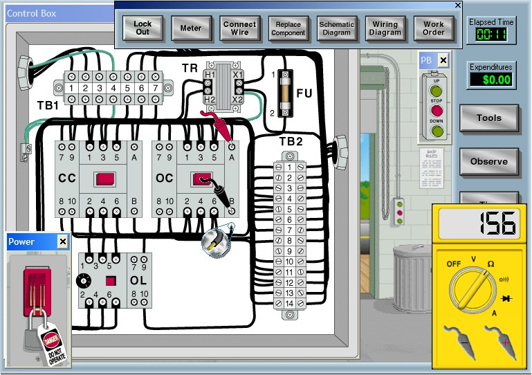 Click to view Electrical Motor Control Circuits 3.20 screenshot