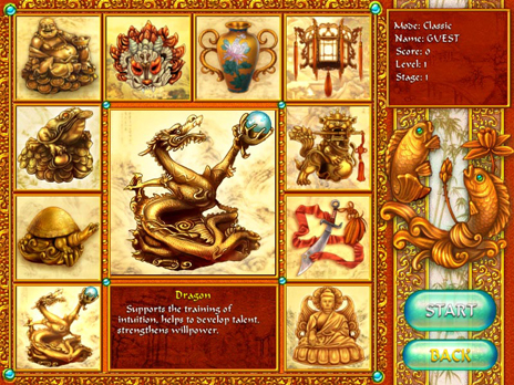 Click to view 10 Talismans Free game 1.0.21 screenshot