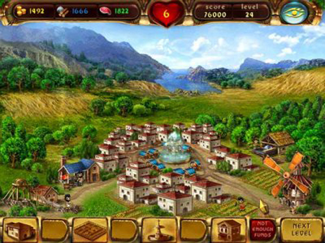 Click to view Cradle of Rome Free game download 1.0.2 screenshot