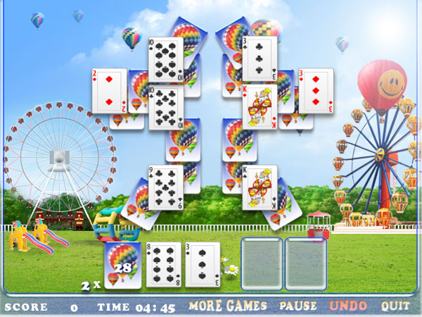 Click to view Card Attraction Solitaire 1.0 screenshot