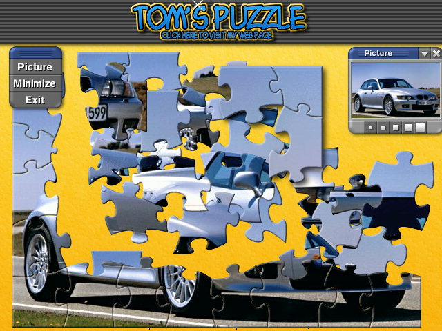 Click to view Jigs@w Puzzle Promo Creator 2.10 screenshot