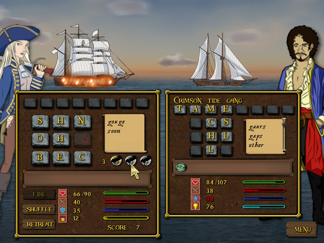 Click to view Word Pirate 2.31 screenshot