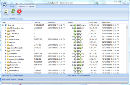 Click to view SyncBack4all - file sync backup free 9.0.0.0 screenshot