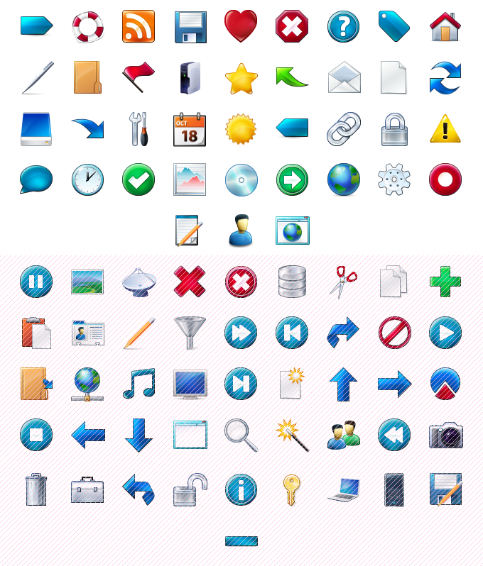 Click to view Toolbar icons 1.1 screenshot