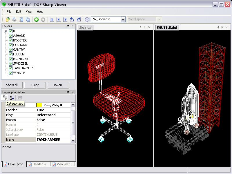 Click to view DWG DXF Sharp Viewer 2.0.30.0 screenshot
