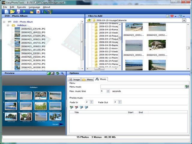 Click to view EasyPhototools 2.0.0.0 screenshot