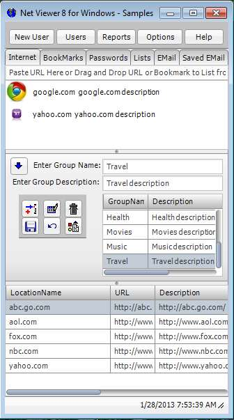 Click to view Net Viewer 8.1 screenshot