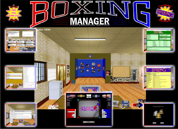 Click to view Boxing Manager Professional Edition 1.8.3 screenshot