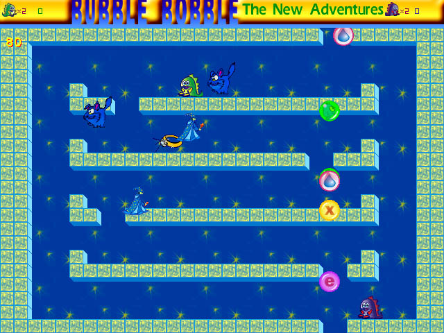 Click to view Bubble Bobble: The New Adventures 1.7 screenshot