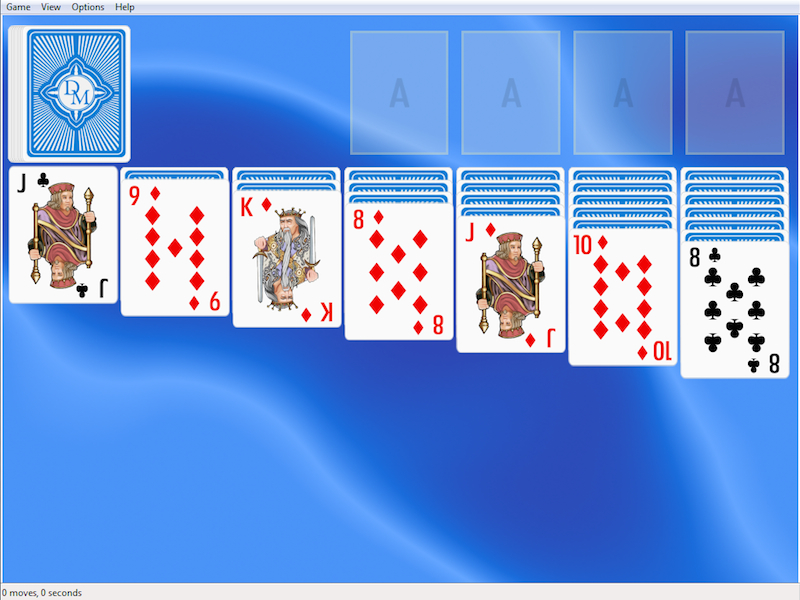 Click to view Classic Solitaire for Windows 2.3.5 screenshot