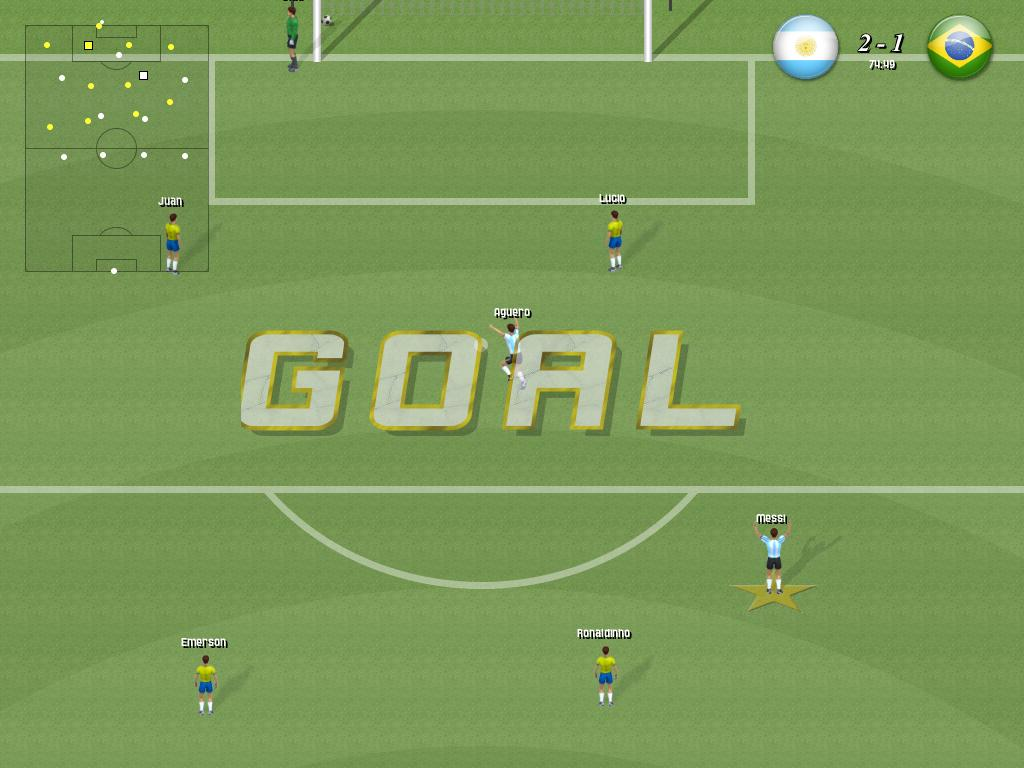 Click to view Awesome Soccer 1.2 screenshot