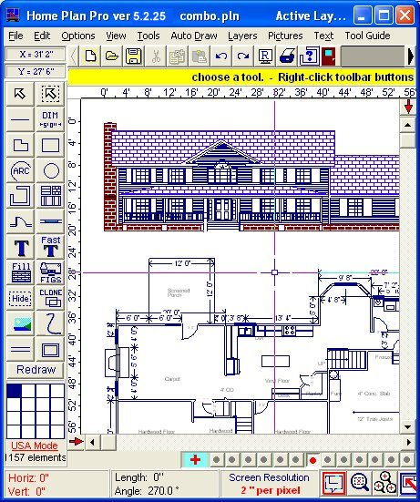 Click to view Home Plan Pro 5.2.26.04 screenshot