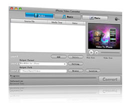 Click to view iPhone Video Converter 2.0 screenshot