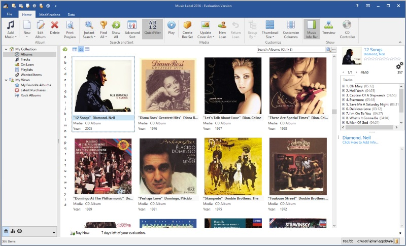 Click to view Music Label 2014 20.0.2 screenshot