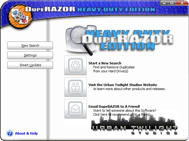 Click to view DupeRAZOR - Duplicate Files Removal Kit 4.0 screenshot