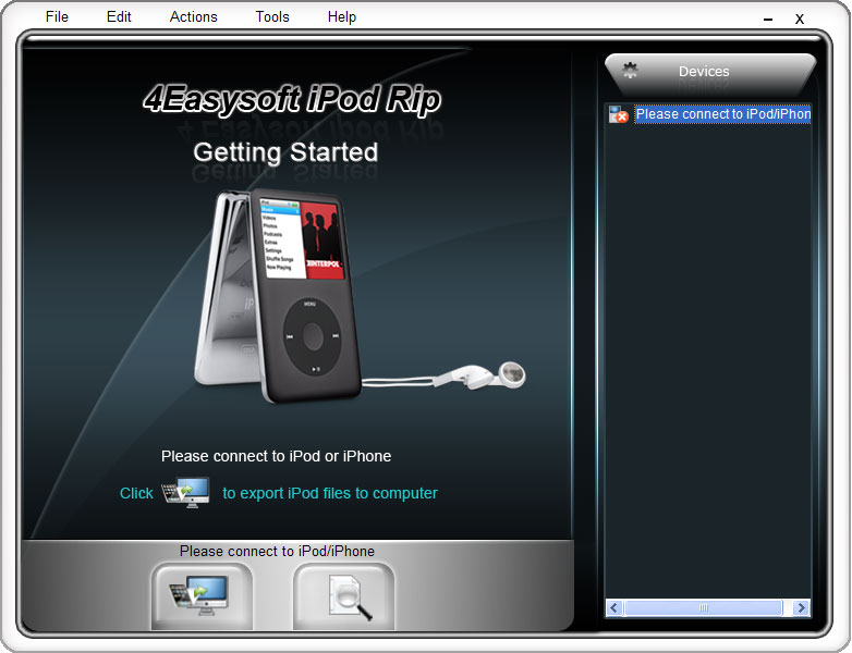 Click to view 4Easysoft iPod Rip 4.0.36 screenshot