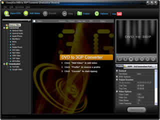 Click to view Clone2Go DVD to 3GP Converter 2.5.0 screenshot