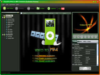 Click to view Clone2Go Video to MP4 Converter 2.5.0 screenshot