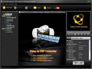 Click to view Clone2Go Video to PSP Converter 2.5.0 screenshot