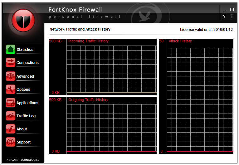 Click to view FortKnox Personal Firewall 11.0.505 screenshot