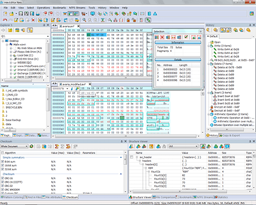 Click to view Hex Editor Neo 5.14.00.4787 screenshot