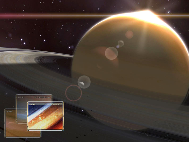 Click to view Saturn Observation 3D Screensaver 1.0.3 screenshot