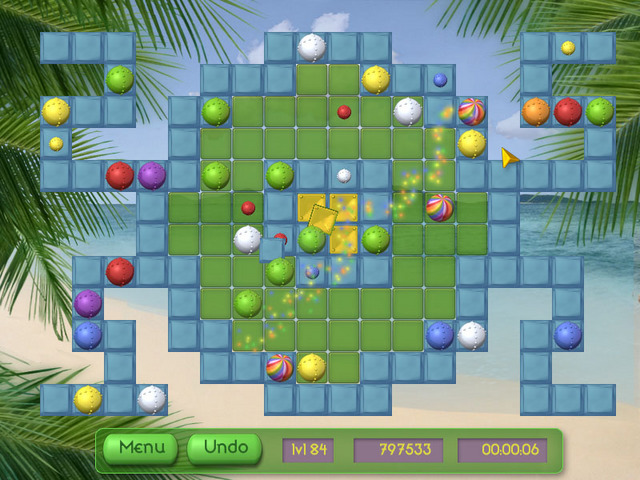 Click to view Tropical Puzzle 1.22 screenshot