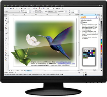 Click to view CorelDRAW Graphics Suite X5 screenshot