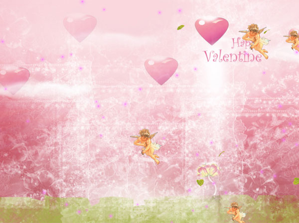 Click to view Happy Valentines Animated Wallpaper 1.0.0 screenshot