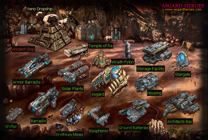Click to view Asgard Heroes free war games 0.1 screenshot