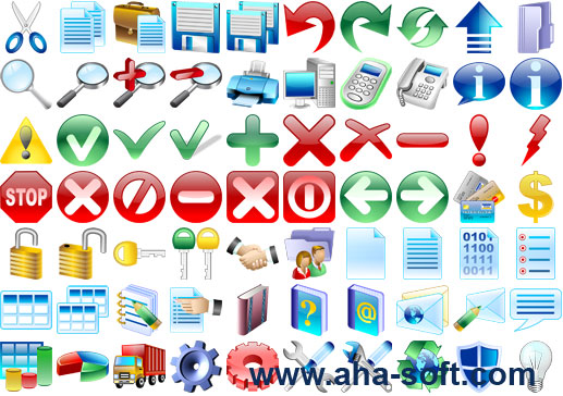 Click to view Basic Icons for Vista 2013.1 screenshot