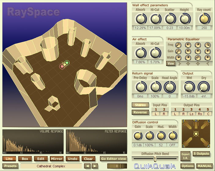 Click to view RaySpace 2.91 screenshot