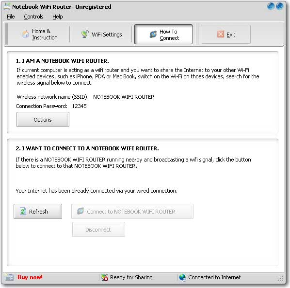 Screenshot for SAMSUNG Notebook WiFi Router 6.1