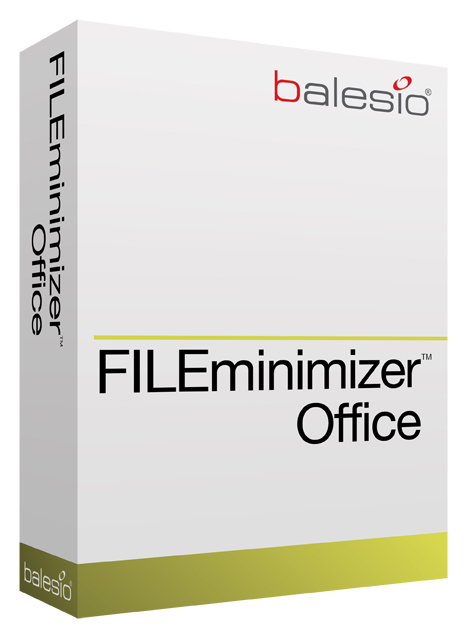 Click to view FILEminimizer Office 5.0 screenshot
