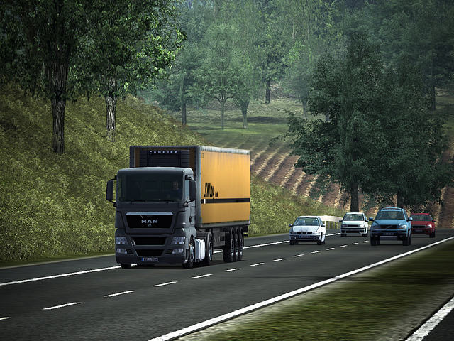Click to view German Truck Simulator 1.32a screenshot