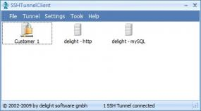 Click to view SSH Tunnel Client 4.0 screenshot