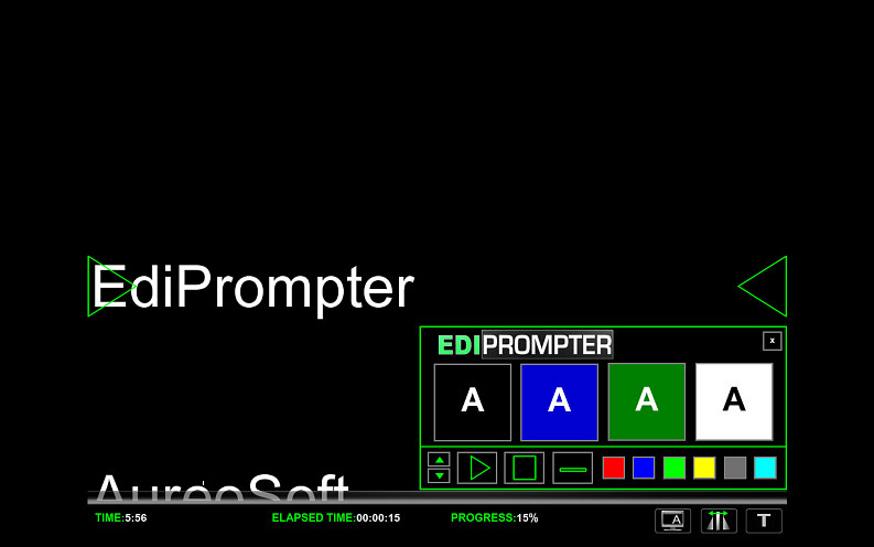 Click to view EdiPrompter Personal Edition 1.0 screenshot