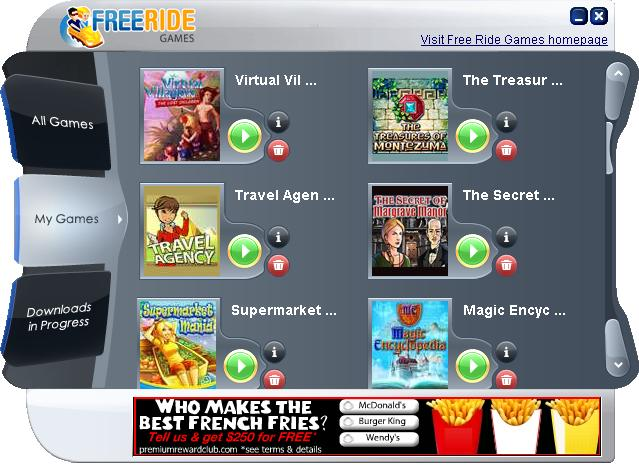 Screenshot for Free Ride Games Free Game Downloads 5.0.0