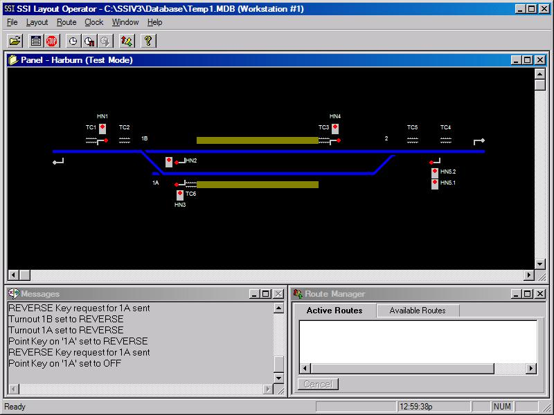 Click to view SSI Model Railway Control System 4.01.001 screenshot