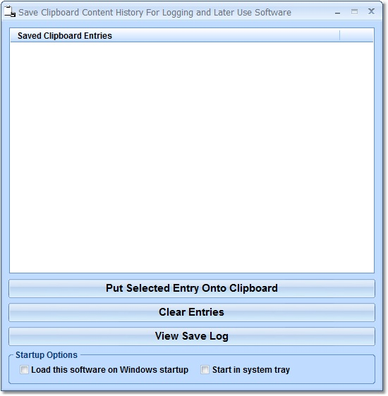 Click to view Save Clipboard Content History For Logging and Lat 7.0 screenshot